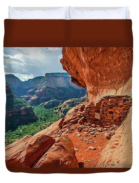 Boynton Canyon 08-174 Duvet Cover