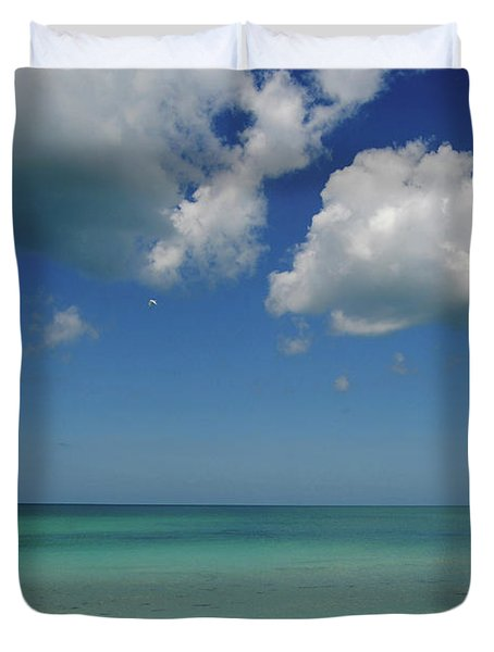 Bradenton Beach Duvet Cover
