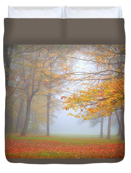 Bradys Run Park Duvet Cover