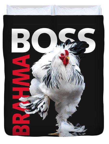 Brahma Boss II T-shirt Print Duvet Cover