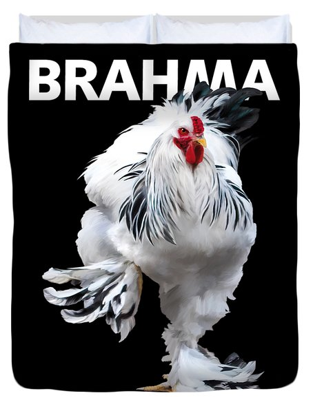 Brahma Breeders Rock T-shirt Print Duvet Cover