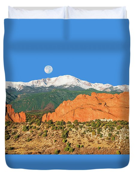 Brahma, The Hindu Creator God Duvet Cover