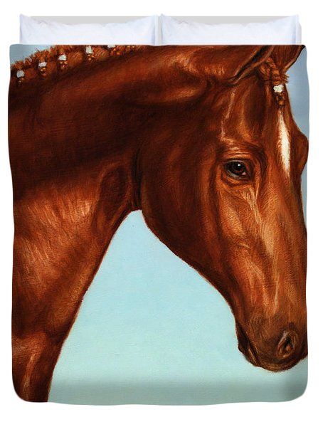 Braided Duvet Cover by James W Johnson