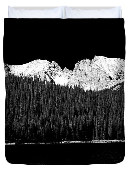 Brainard Lake - Indian Peaks Duvet Cover by James BO  Insogna