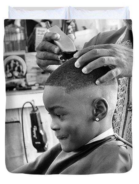 Brian's Haircut Duvet Cover