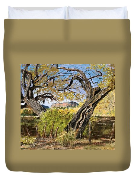 Branch Embrace Duvet Cover