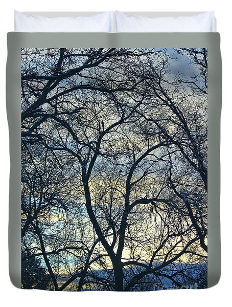 Branches Duvet Cover by Erica Hanel