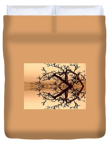 Branches In Suspension Duvet Cover