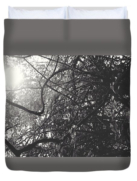 Branches Duvet Cover by Sarah Boyd