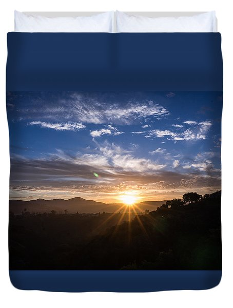 Brand New Day  Duvet Cover