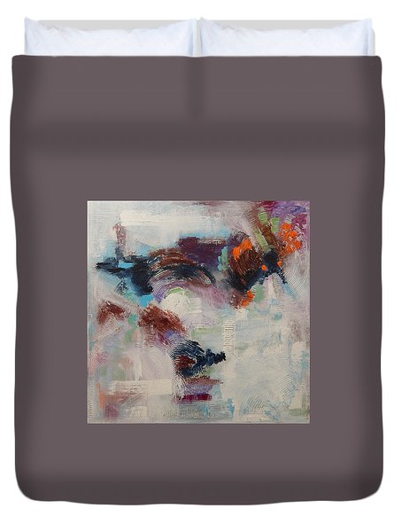 Brand New Vision Duvet Cover by Sue Furrow