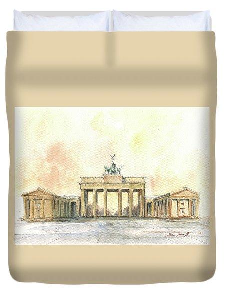 Brandenburger Tor, Berlin Duvet Cover