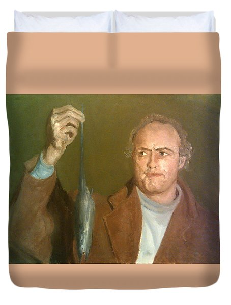 Brando And The Rat Duvet Cover
