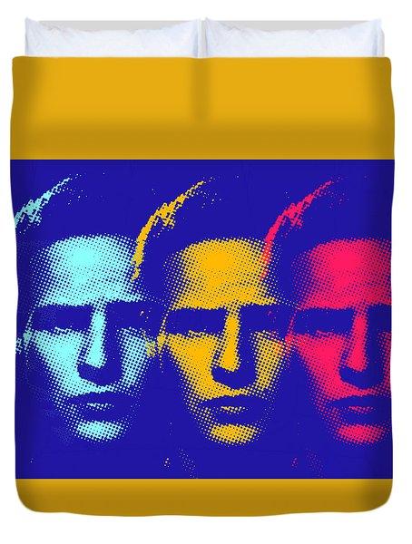 Brando Triple  Duvet Cover by Surj LA