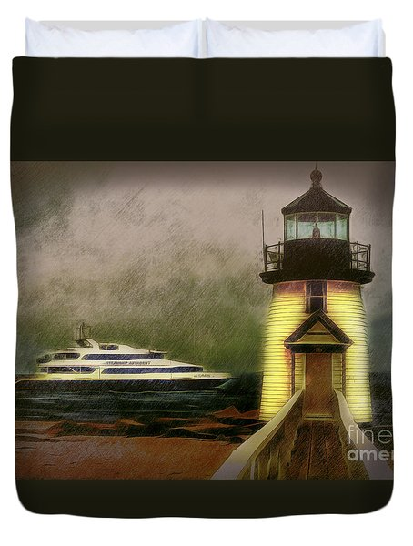 Brant Light II Duvet Cover