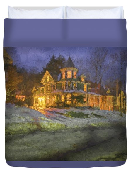 Brattleboro Victorian II Duvet Cover by Tom Singleton