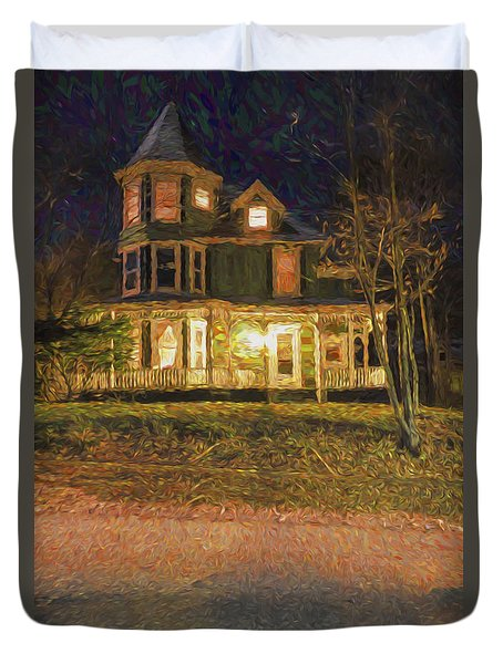 Brattleboro Victorian Duvet Cover by Tom Singleton