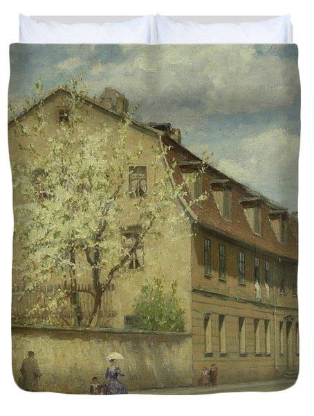 Braune Weimar Duvet Cover by Christoph Martin Weiland