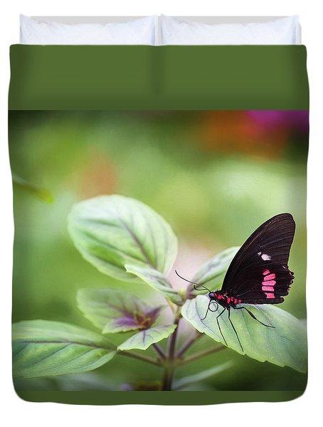 Brave Butterfly  Duvet Cover