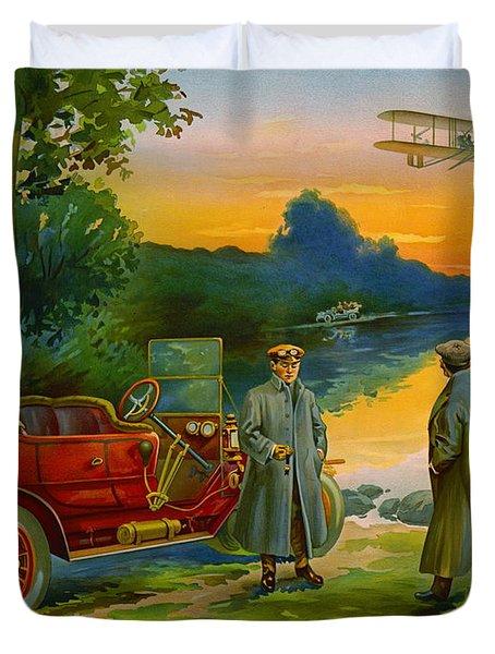 Brave New World 1910 Duvet Cover