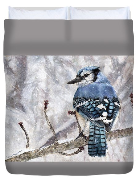 Braving The Storm Duvet Cover by Shana Rowe Jackson