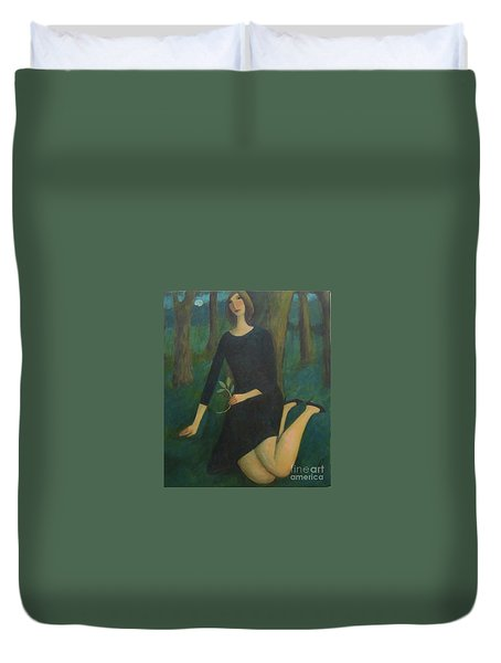 Break In The Evening Duvet Cover by Glenn Quist