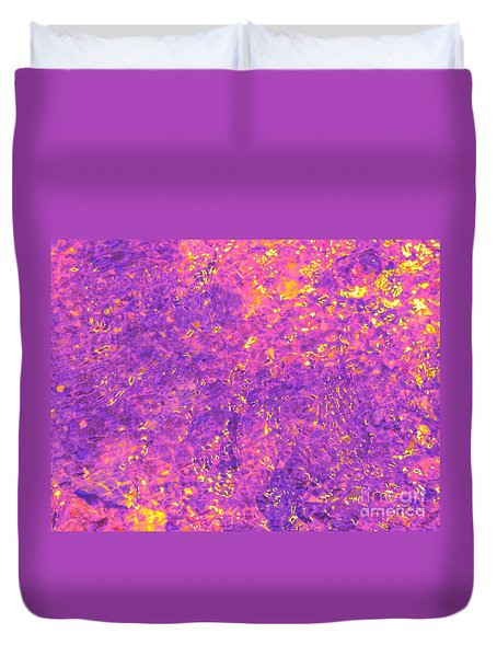 Break Through - Abstract Light Duvet Cover