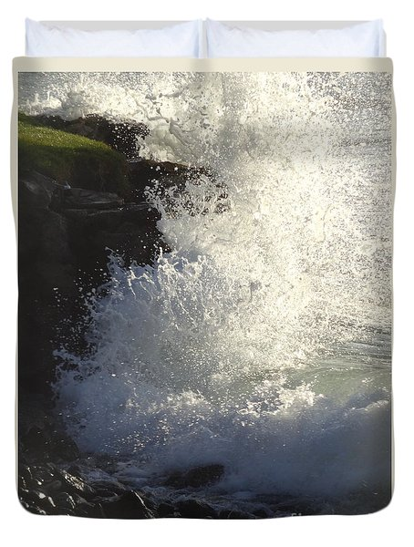 Breakers Duvet Cover by Fred Wilson