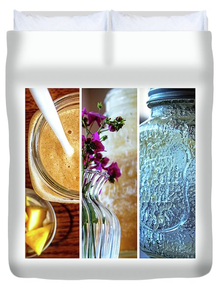 Breakfast Options Duvet Cover