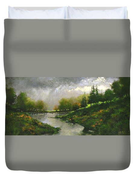 Breaking Clouds Duvet Cover