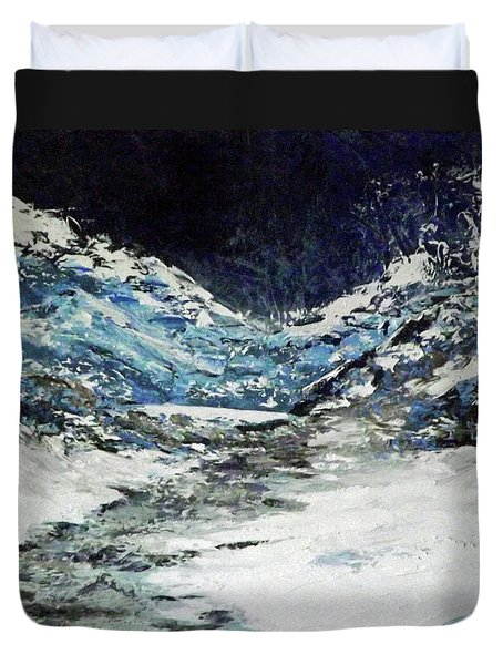 Breaking Loose Duvet Cover