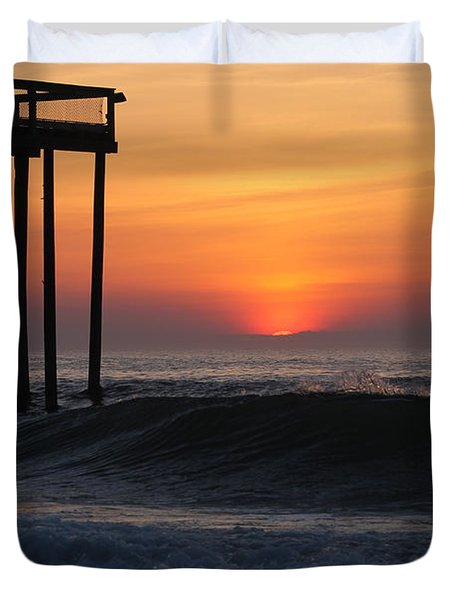 Breaking Sunrise Duvet Cover