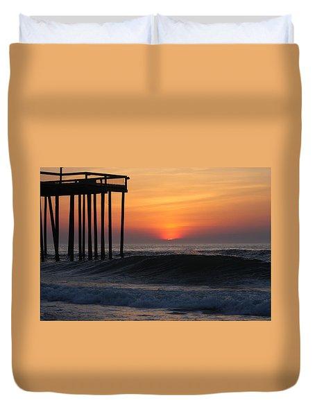 Breaking Sunrise Duvet Cover
