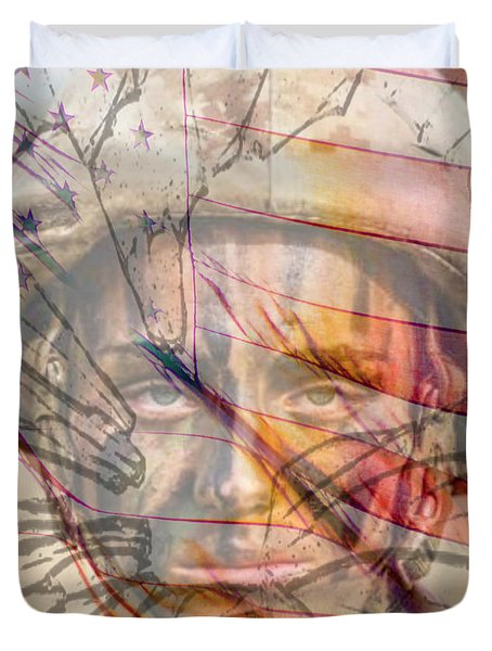 Breaking The Glass Ceiling Duvet Cover