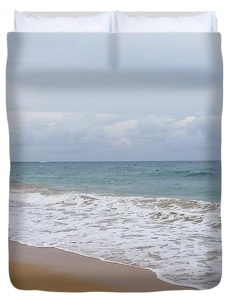 Breaking Wave San Juan Duvet Cover