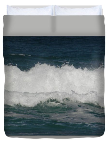 Breaking Waves Duvet Cover
