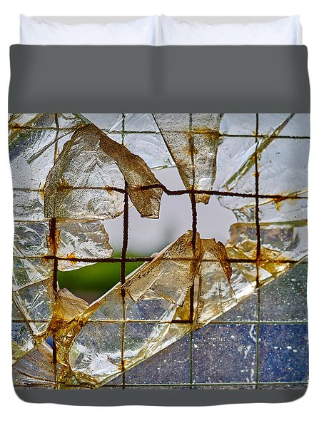 Breakthrough Duvet Cover