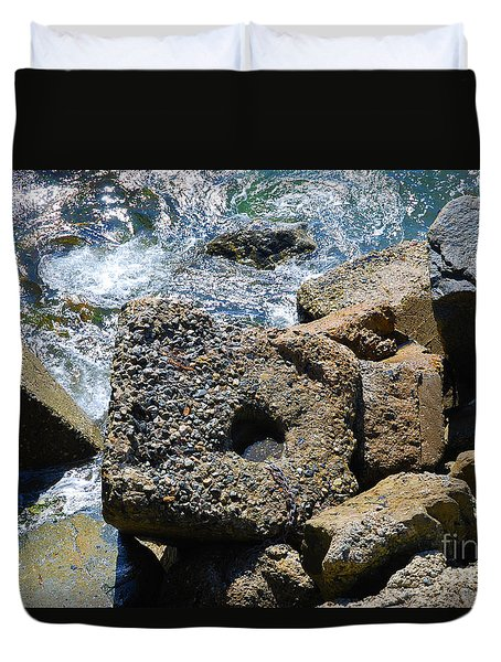 Breakwall Duvet Cover