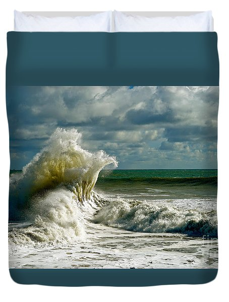 Breakwater Backwash Duvet Cover