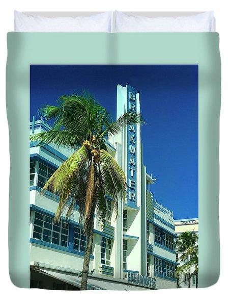 Breakwater Miami Beach Duvet Cover