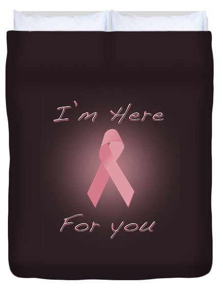 Breast Cancer Duvet Cover