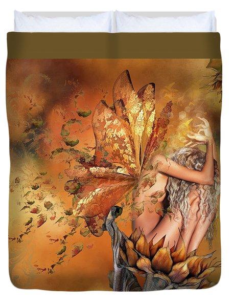 Breath Of Autumn Duvet Cover