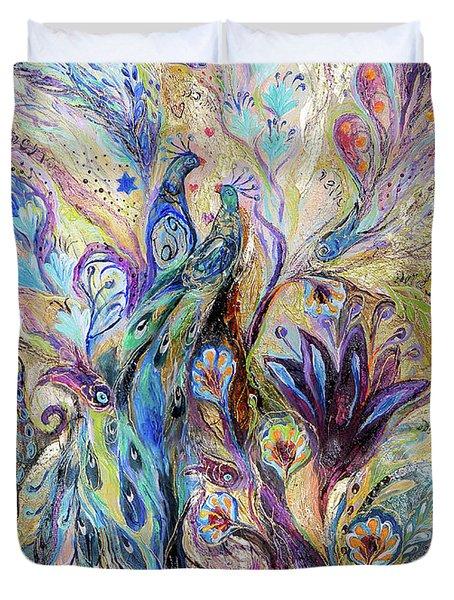Breath Of Breeze Duvet Cover by Elena Kotliarker