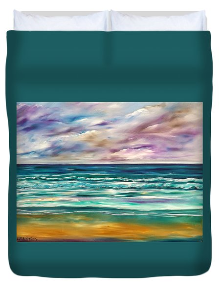 Breathe In Duvet Cover by Lisa Aerts