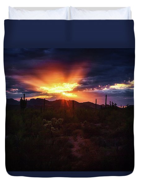 Duvet Cover featuring the photograph Breathe by Rick Furmanek