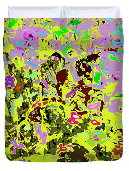 Breathing Color Duvet Cover