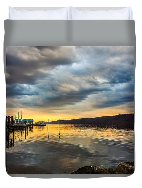 Breathless  Duvet Cover