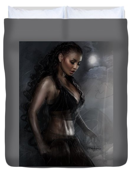 Breathless Energy Duvet Cover