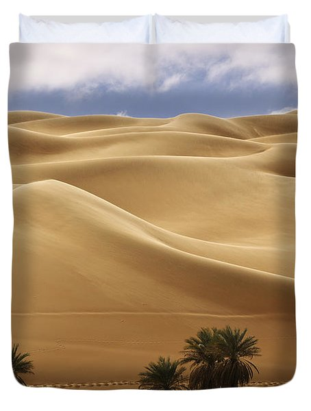 Breathtaking Sand Dunes Duvet Cover