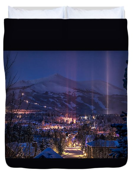 Breckenridge Phenomenon Duvet Cover